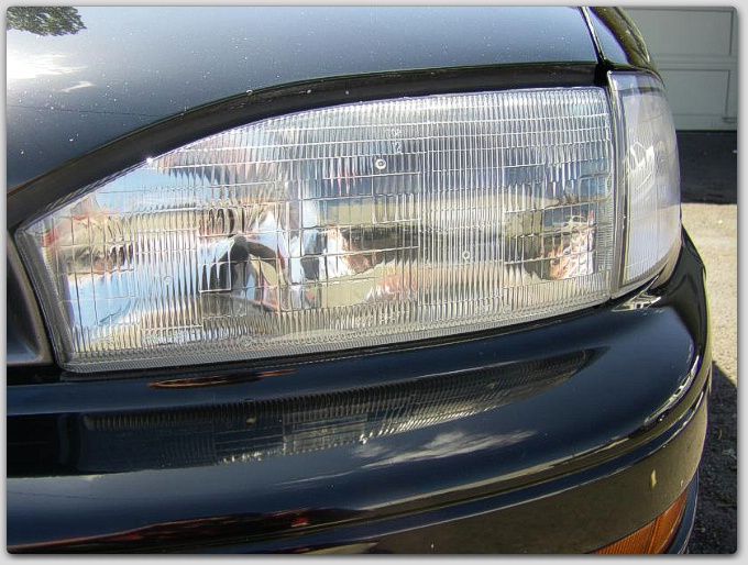 headlight restoration by ace car reconditioning. Black Bedroom Furniture Sets. Home Design Ideas