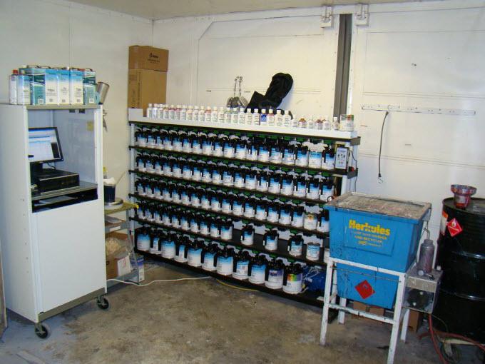 Martin Senour paint system